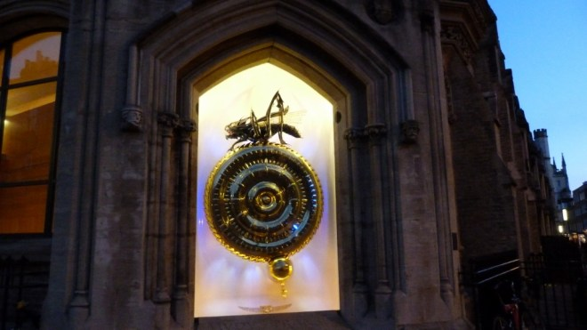 The Corpus Chronophage at dusk