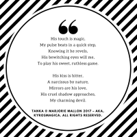 """Colleen's Weekly #Tanka #Poetry Challenge #18 – """"Charm &Touch"""""""