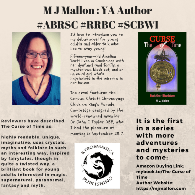 M J Mallon _ YA Author