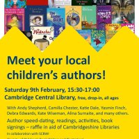 #SCBWI Author Event - Cambridge Meet Your Local Children's Authors #Library #Authors #Illustrators #YA #MG #PB