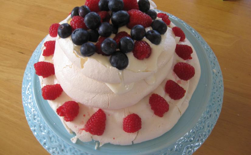 Triple Layer Pavlova Recipe