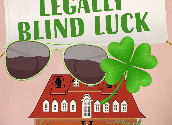Pre-order Legally Blind Luck by James J Cudney #pre-order #mysteries #book