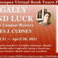 Promotional Tour Legally Blind Luck by James Cudney Great Escapes Book Tours  @jamescudney4 #Review #Giveaway