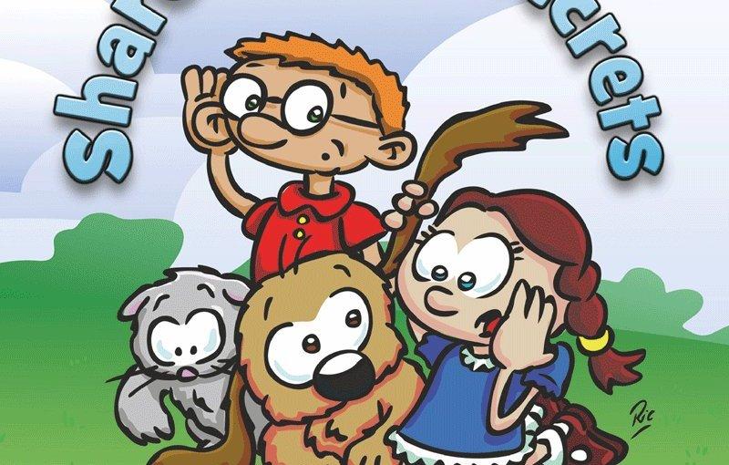Book Review: Share Some Secrets @ChristiGabbitas @nspcc #NSPCC #safeguarding #children