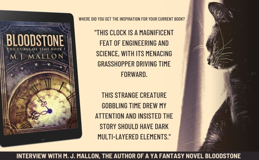 Bloodstone (The Curse of Time Book 1) is Featured on Books Go Social #YA #Fantasy