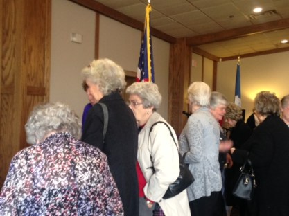 Ladies in line