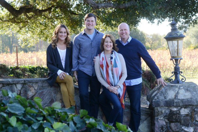 Family photo in Sonoma