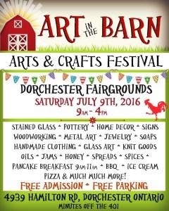 Art in the Barn 2016