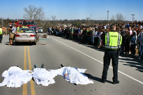 Photo from 2013 Mock Crash