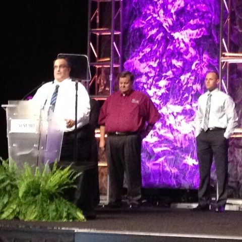 Richard Frankich Speaks at Award Ceremony
