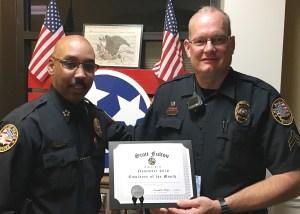 Chief Hambrick & Sgt. Fulton