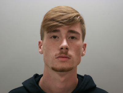 Booking Photo of Austin Lucas, 18, of Old Hickory