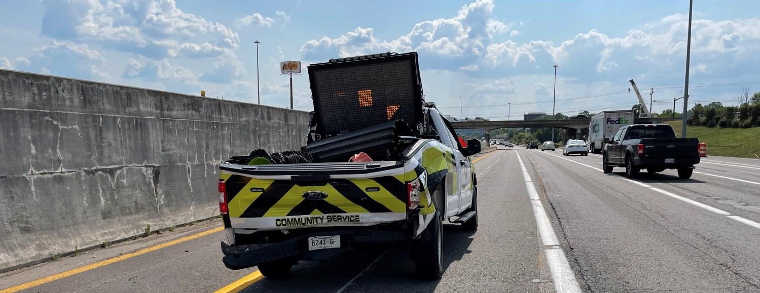 CSO Truck After Crash