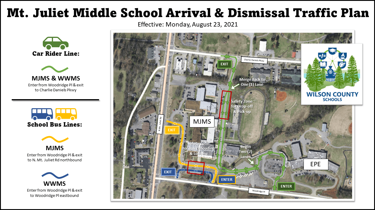 MJMS WWMS Arrival and Dismissal Traffic Plan