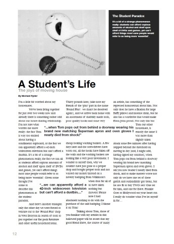 A Student's Life, by M.J.Ryder