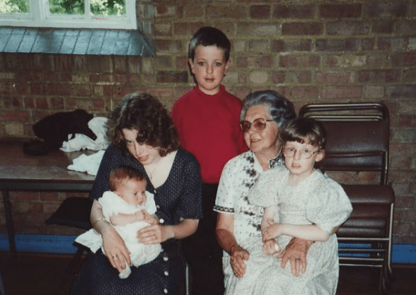 Great Nanna, St Mark's Church, Ramsgate, 1994