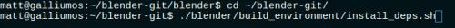 running 'install deps.sh'
