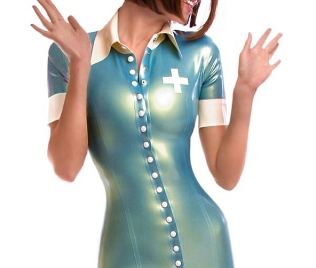 Latex Nurse Costume