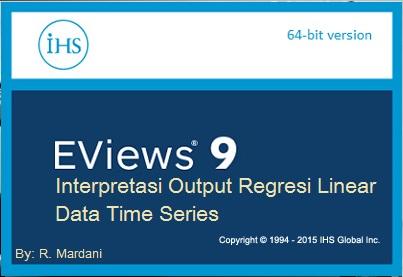 Cara Baca Hasil Regresi EViews