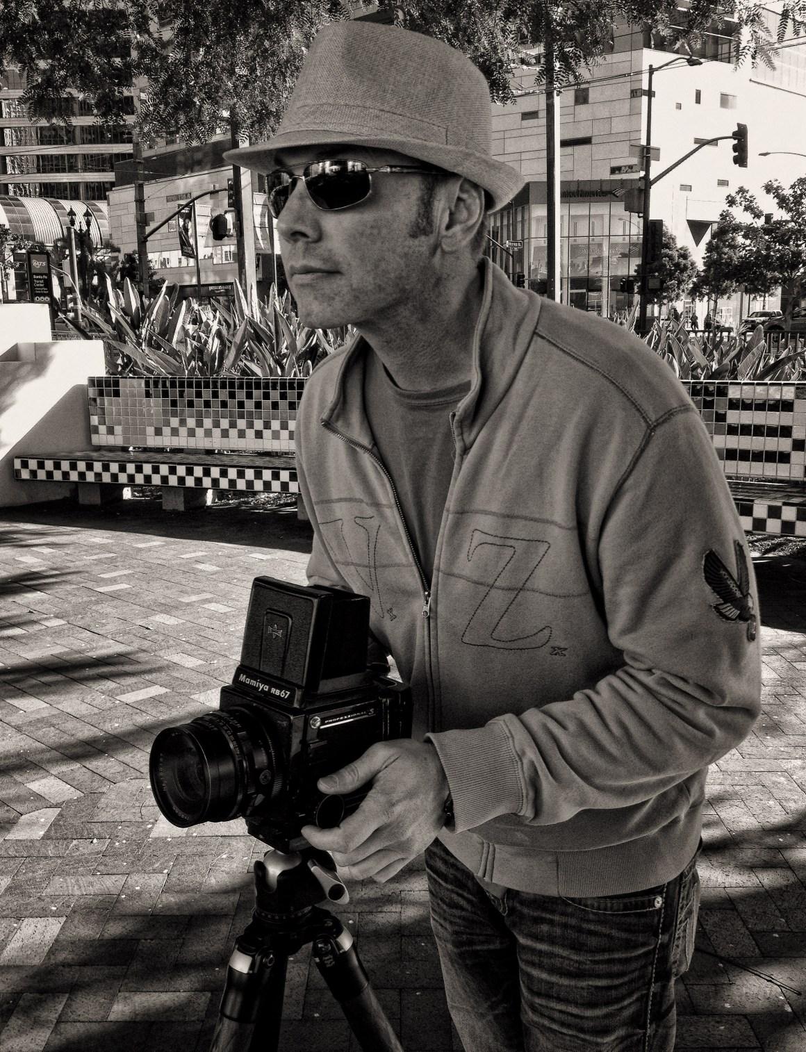 Marshall J Vanderhoof Photographer Portrait