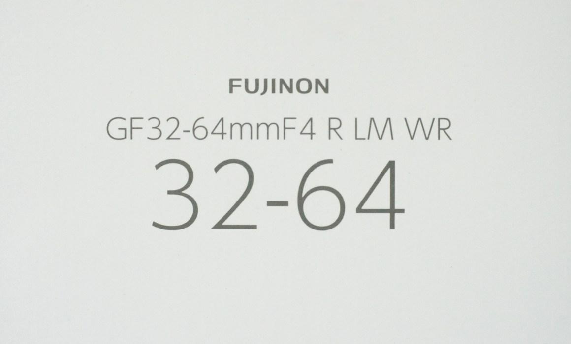 Fujifilm GF 32-64mm F4 lens unboxing