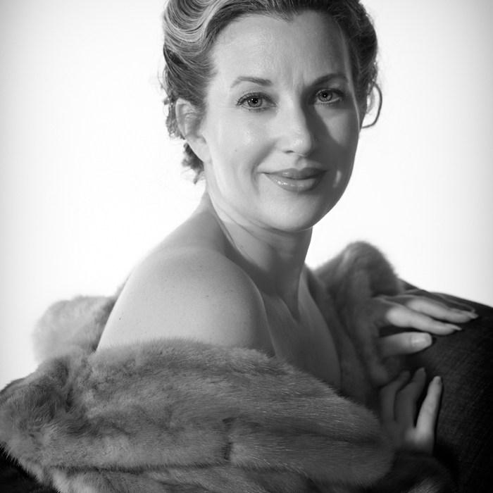 Teale Hatheway Portrait black and white era specific to golden age of cinema