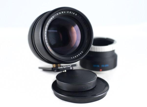 image of Carl Zeiss Jena Sonnar 180mm f2.8 vintage lens
