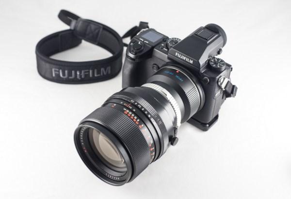 image Carl Zeiss Jena Sonnar 180mm f2.8 Lens Fuji GFX 50s