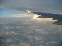 Storm clouds are amazing from above