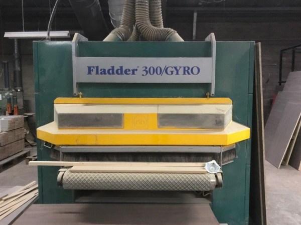 Fladder 300 Gyro Denibbing Brush Machine