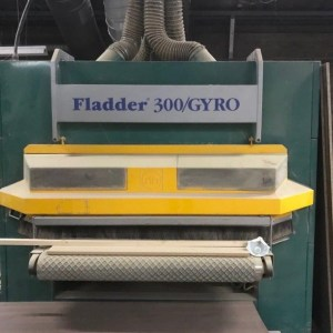 Fladder 300 Gyro Denibbing Brush Machine