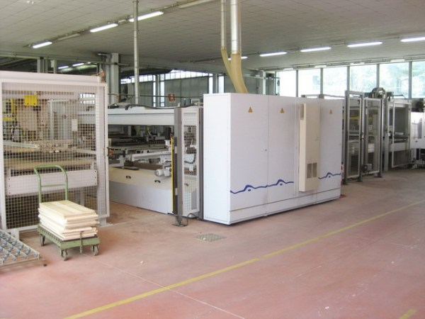 BST 100 + TBH22 + TSH22 Boring Machine by WEEKE + BARGSTEDT (HOMAG Group)
