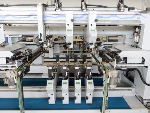 BST 500 D PROFILINE Boring Machine by WEEKE (HOMAG Group)