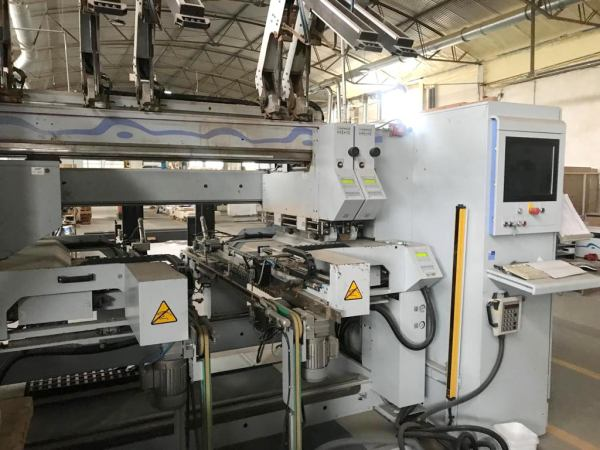 BST 500 D PROFILINE Boring Machine by WEEKE (HOMAG Group)