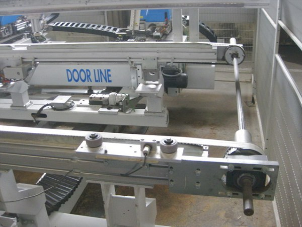 Door Line CNC Machine by MASTERWOOD
