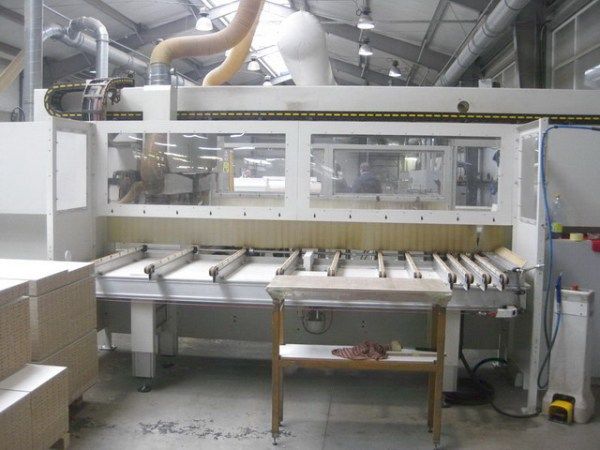 Flexa 912 (Author) Boring Machine by MORBIDELLI (SCM Group)