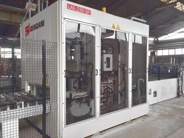 LAS 230 SP + SL + Grafmatic Hydraulic Press by SERGIANI (SCM Group)
