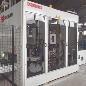 LAS 230 SP + SL + Grafmatic Hydraulic Press by SERGIANI (SCM Group)