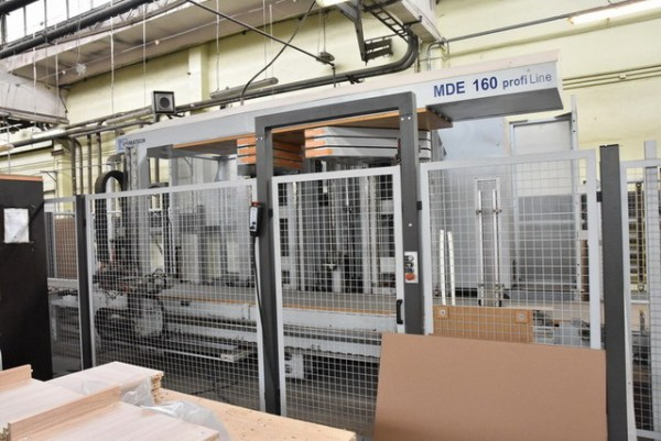MDE 160/28/08 + MTK + MTB + ZTR Clamp by LIGMATECH (HOMAG Group)