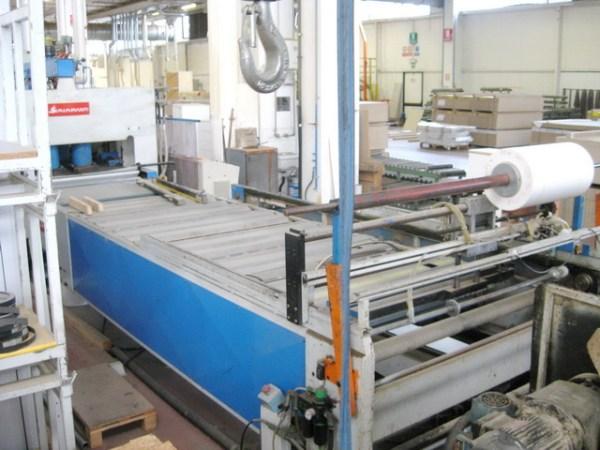 RAC/B (mm 1400 x 4500) Hydraulic Press by SIMI IMPIANTI + SAG