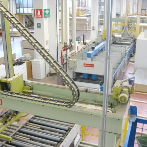 RAC/B (mm 1400 x 4500) Hydraulic Press by SIMI IMPIANTI + SAG