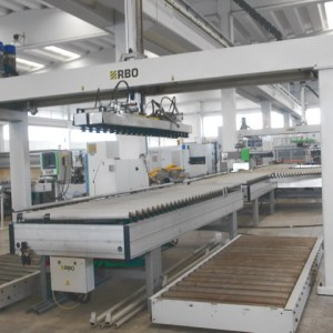 Selecta S/DF Loader by RBO (BIESSE Group)