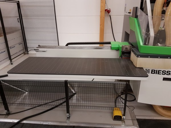 Skipper 130 CNC Machine by BIESSE