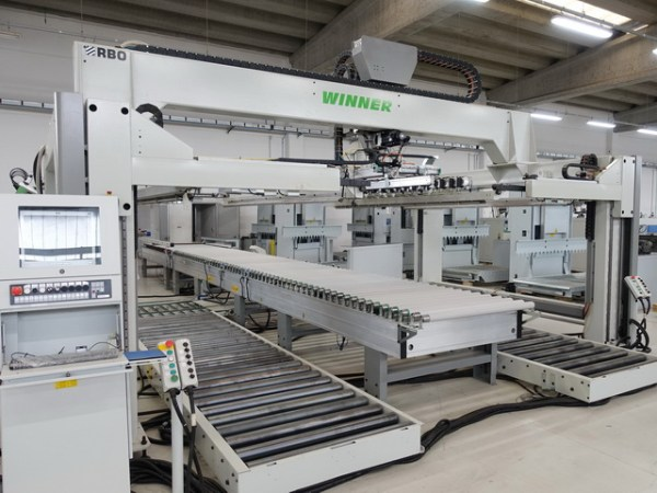 Techno FDT (2) + Winner (2) Boring Machine by BIESSE + RBO (BIESSE Group)