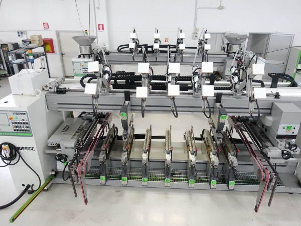 Techno FDT CN + Techno SDT CN Boring Machine by BIESSE