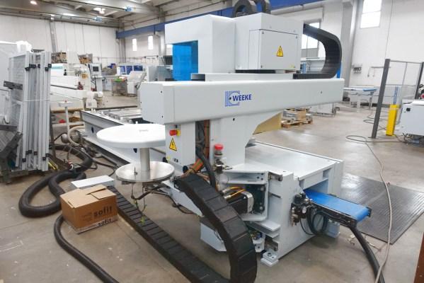 Venture 3 M CNC Machine by WEEKE (HOMAG Group)