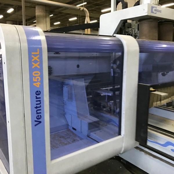 Venture 450 XXL CNC Machine by WEEKE (HOMAG Group)