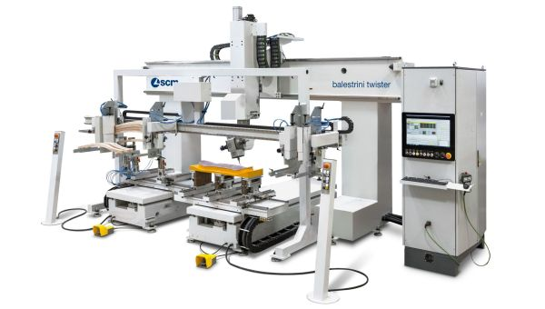 SCM balestrini twister CNC Machine