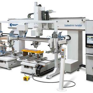 SCM balestrini twister CNC Machine