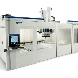SCM routech chronos CNC Machine